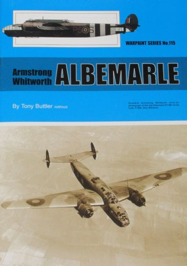 Armstrong Whitworth Albemarle, by Tony Butler